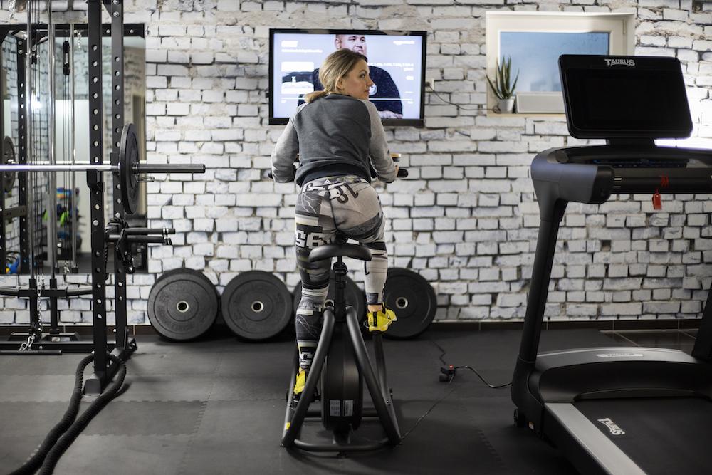 Home Gym, Fitnessraum (Yavi Hameister, mama-moves)